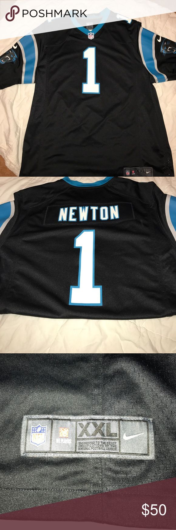 NFL Jersey Cam Newton, QB for the Carolina Panther's Jersey (Son switched up on me for the Patriots 😑) Tops Tees - Short Sleeve