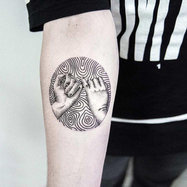 Pinky Swear Forearm Tattoo