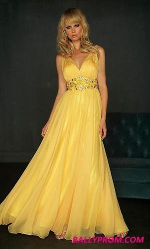 i love yellow...so lady like: Evening Dresses, Color, Wedding Ideas, Robe De, Bridesmaids Dresses, Prom Dress, Yellow