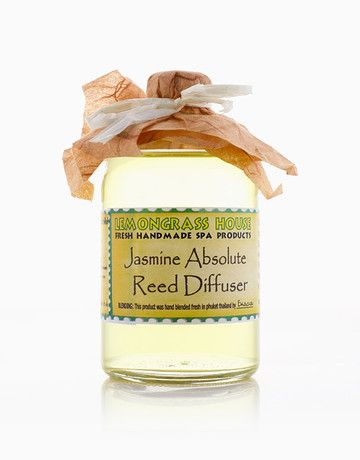 Lemongrass House Jasmine Diffuser does not only release fragrance into your home but also allow the therapeutic properties of Jasmine essential oils into your room to create a relaxing mood #reed #diffuser #aromatherapy #aromatherapy
