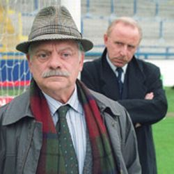 "A Touch of Frost is a television detective series based on the Frost novels by R.D. Wingfield. It stars David Jason as Detective Inspector William Edward ""Jack"" Frost, known almost universally as Jack, an experienced and dedicated detective who frequently clashes with his superiors. (extract from Wikipedia)"