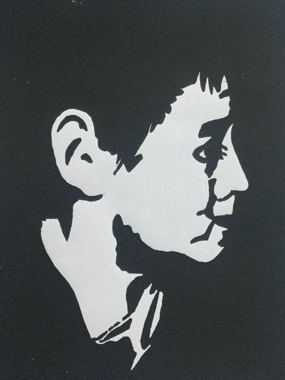 Adam limited edition of 25 signed linocut prints by BonnysLoft
