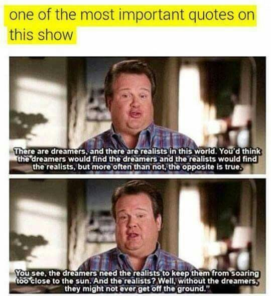 Never seen the show, but good quote