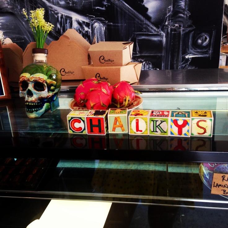 Chalkys cafe, Fremantle