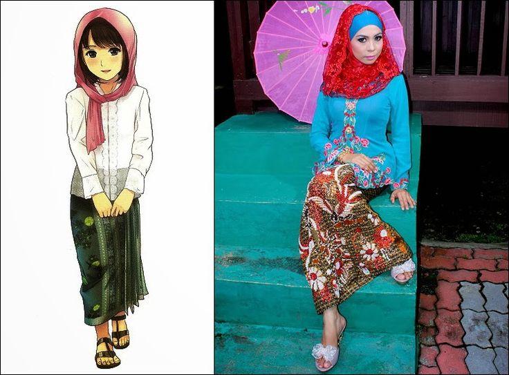 Kebaya : Traditional Clothes of Malaysia, Indonesia, Brunei and Singapore