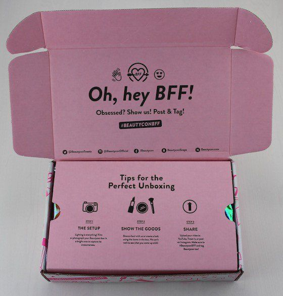 BeautyCon BFF Beauty Winter Subscription Box Review + Coupon