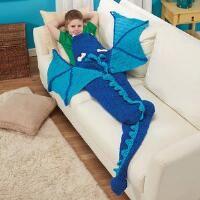Herrschners® Dragon Blanket Crochet Afghan Kit