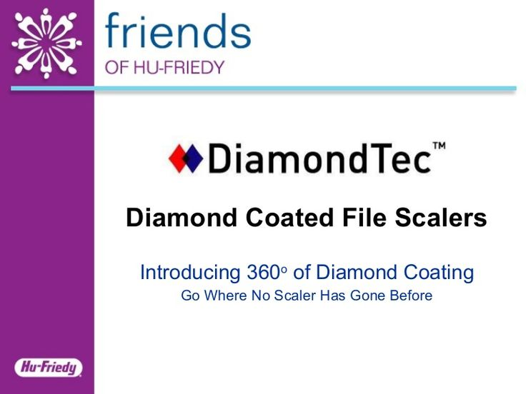 Hu-Friedy DiamondTec File Scalers