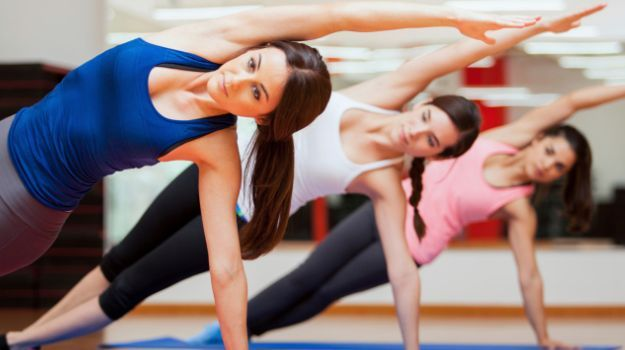 Both Yoga and Pilates improve strength, increase flexibility and reduce stress…