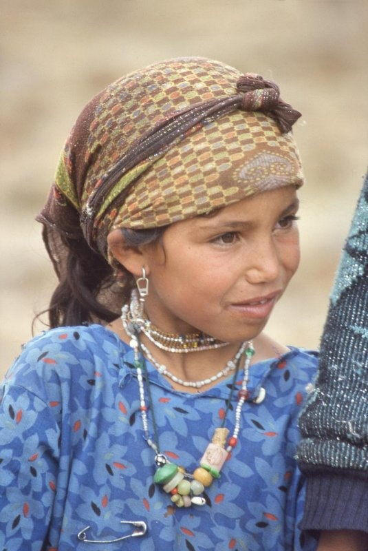 Africa | Girl from the Atlas Mountains | © Christian Girault