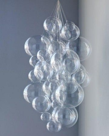 Crea una sofisticada araña de burbujas colgante de forma muy fácil
