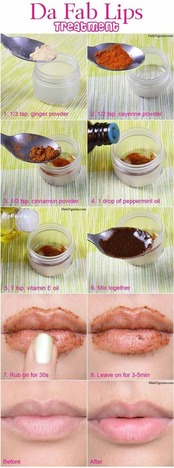 Da Fab Lips Treatment | How To Make Lips Bigger Naturally - Beauty Tips by DIY Ready at  http://diyready.com/diy-lip-plumper-ideas/