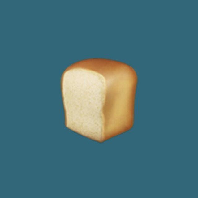 Iphoneの 絵文字の食パン は パサパサしてる 絵文字 イースト菌