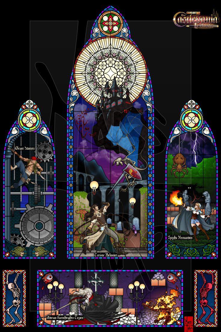 Image result for castlevania 3 fanart