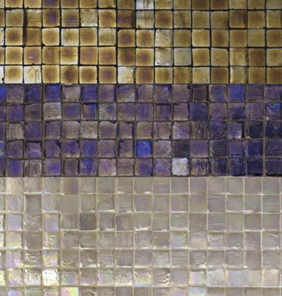 Shimmering Effects Of Tile Mosaics For Shower Decor For