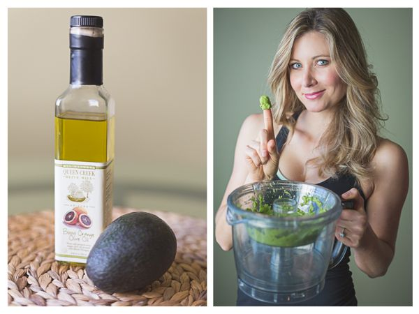luxurious at-home avocado and olive oil hair mask