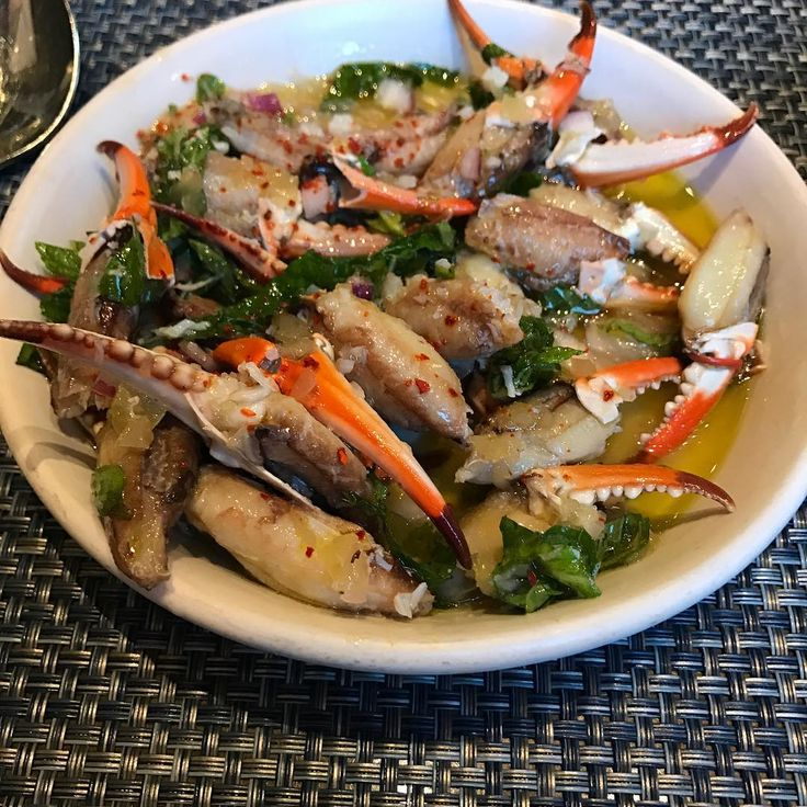 2016 Peche Seafood Grill #Marinated crab claws