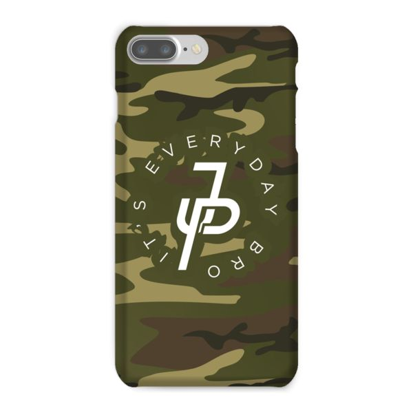 Jake Paul Official Green Camo Phone Case
