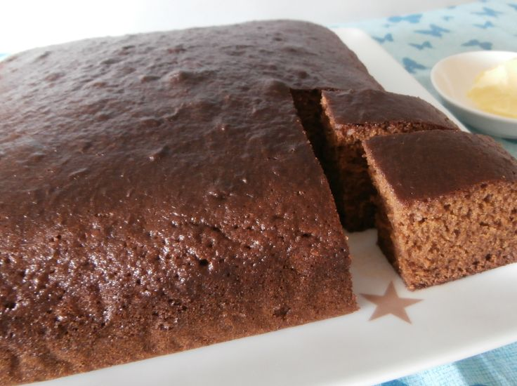 A wheat flour gingerbread and a gluten-free adaptation.