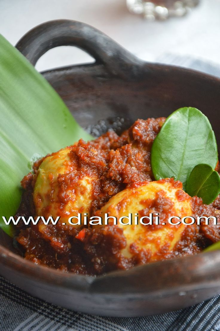 Telur Bumbu Bali | Diah Didi's Kitchen
