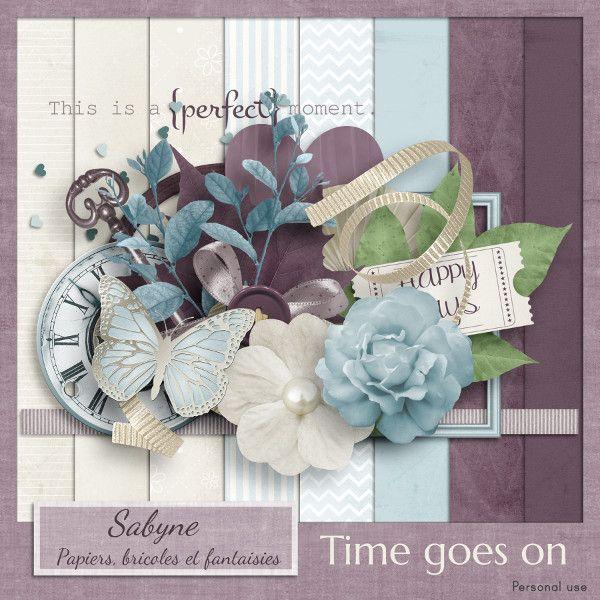 """Kit """" Time goes on"""" Sabyne"""