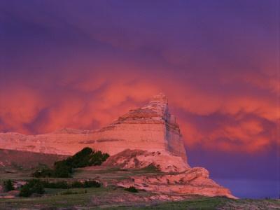 Stormy Light on Scottsbluff National Monument Nebraska USA: National Monuments, Favorite Places, Nebraska Usa, Monuments Nebraska, Usa Photographers, Earth Nebraska Ess, Photographers Prints, Scottsbluff National, Stormy Lights