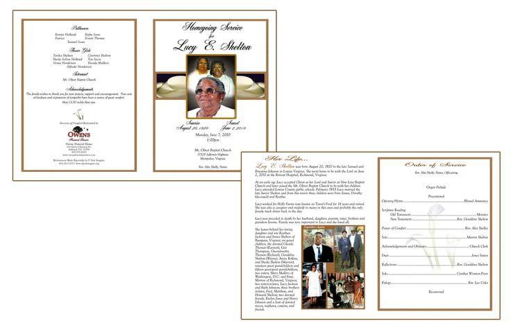 free print funeral brochures