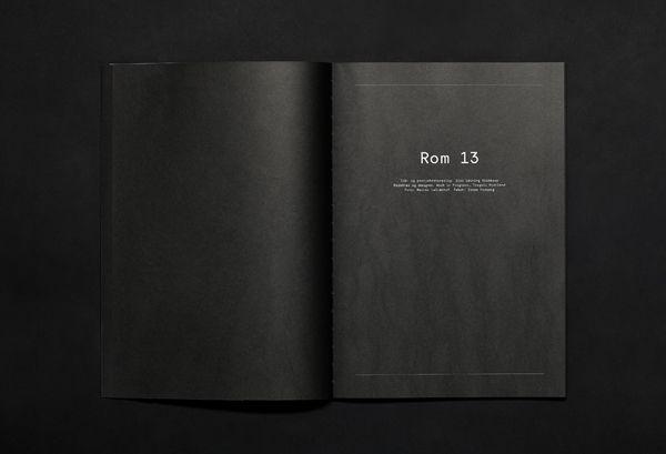 Rom 13 by Torgeir Hjetland, via Behance