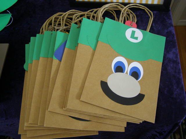 Luigi Birthday Party Ideas | Photo 1 of 45 | Catch My Party