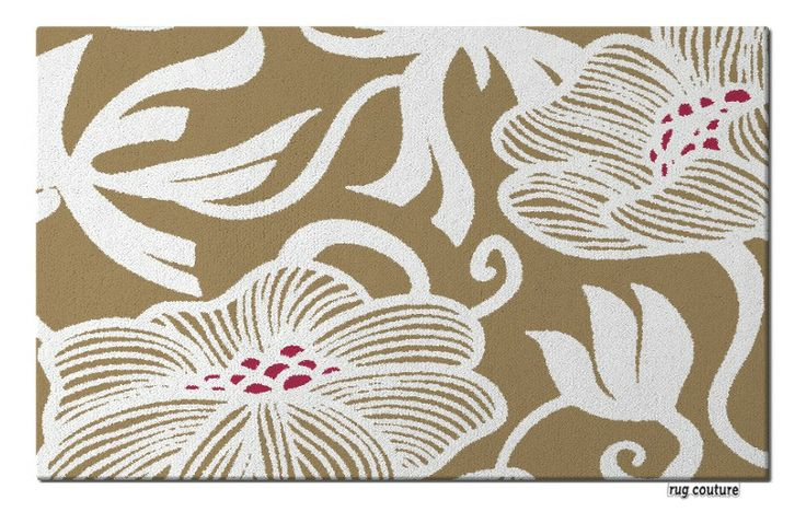 beatrice rug - Customisable hand tufted luxury wool rug by rug couture