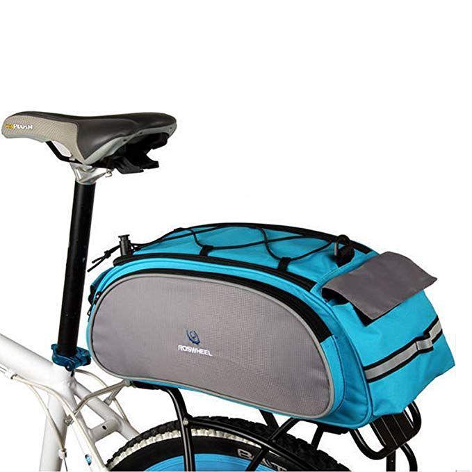Bike Rear Rack Bag 1pcs Waterproof Bicycle Rack Carrier Bags