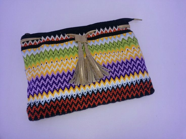 #wayuu #leather #handmade #colombia #ethnic www.teiruma.com