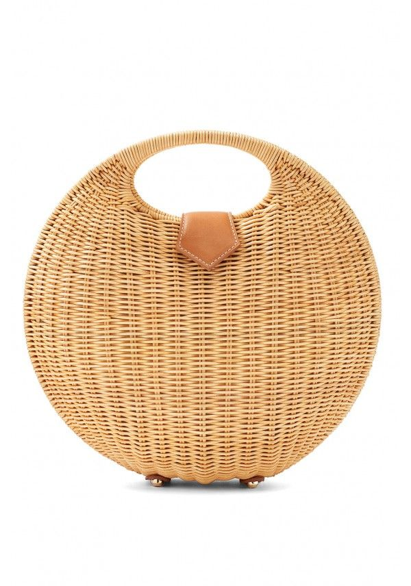 A Wicker Bag is the Best Spring Accessory | Wicker bags ...