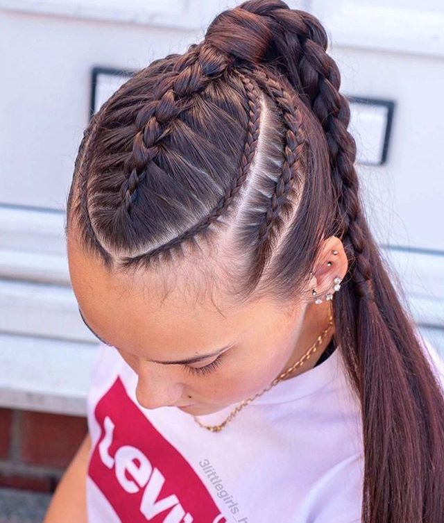 Pin By Liz Vargas On Fraces Tumblr In 2020 Braids For Long Hair Braided Hairstyles Hair Styles