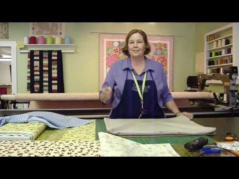 """http://missouriquiltco.com - Jenny from Missouri Star Quilt Company shows us how to take care of  any """"pressing issues"""" when it comes to quilting. Learn how to make your own """"take anywhere"""" ironing board.  If you'd like to get started on quilting and need supplies, come on over and check us out at http://missouriquiltco.com or take a look at our..."""