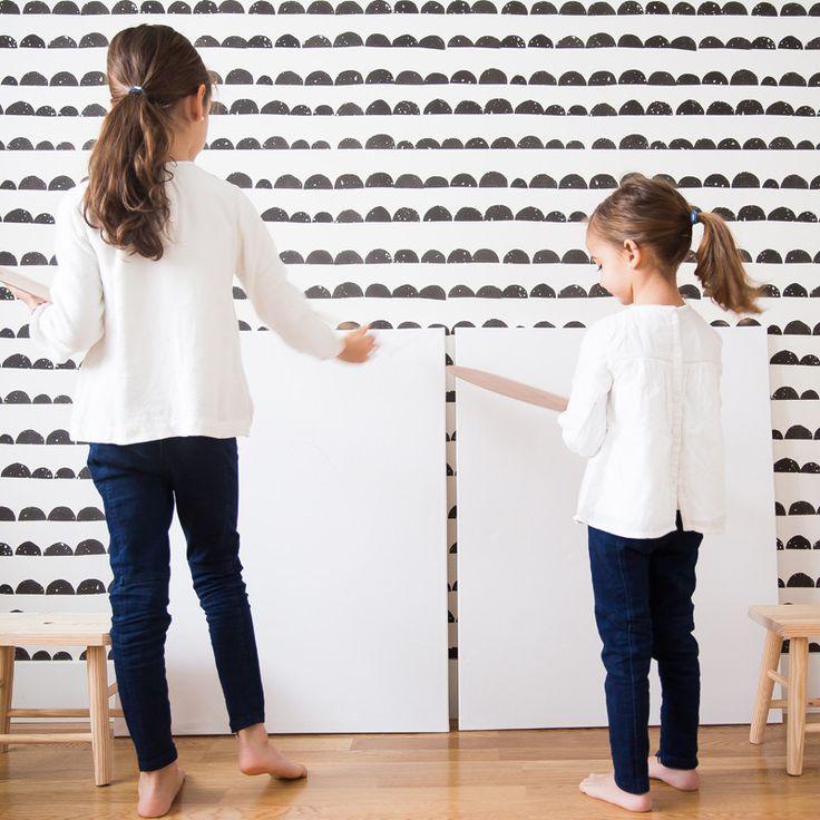 89 best papel pintado infantil images on pinterest - Habitaciones con papel pintado ...