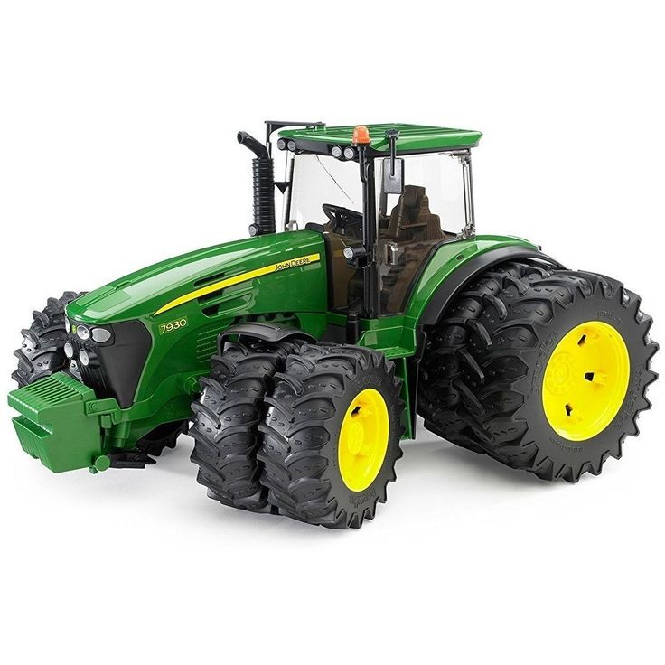 Bruder Toys John Deere 7930 Tractor with Double Wheels 09808 NEW