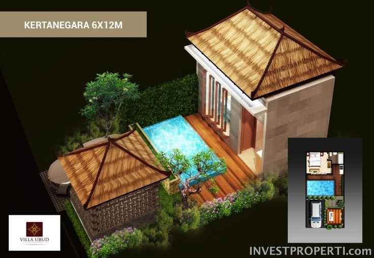 Villa Ubud Anyer Tipe Kertanegara 6x12