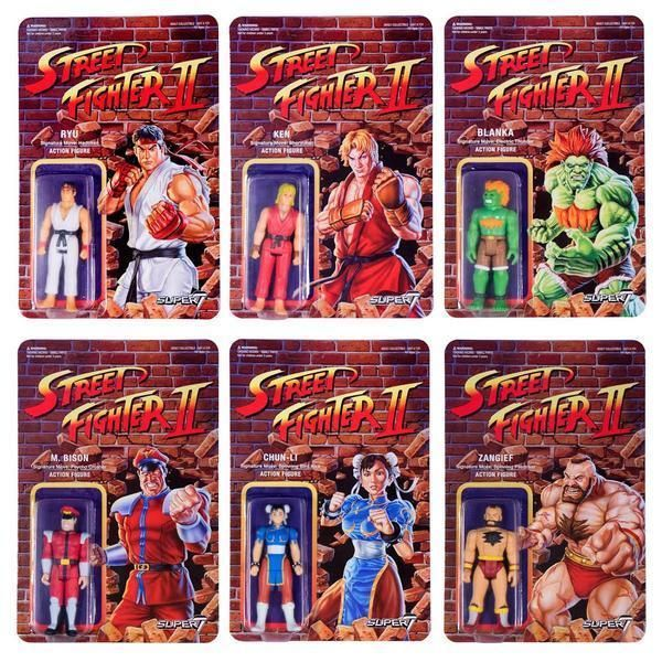 Street Fighter 2 Retro Action Figures Super 7 Collectors Edition  #street #fighter #capcom  #action #figure