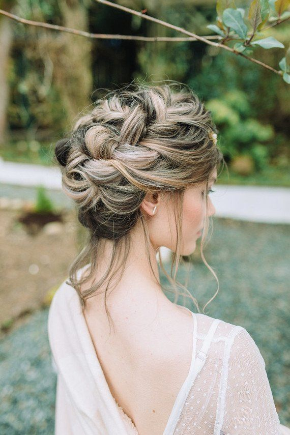 Braided Wedding Hairstyle Hair Styles Braided Hairstyles For Wedding Loose Curls Hairstyles