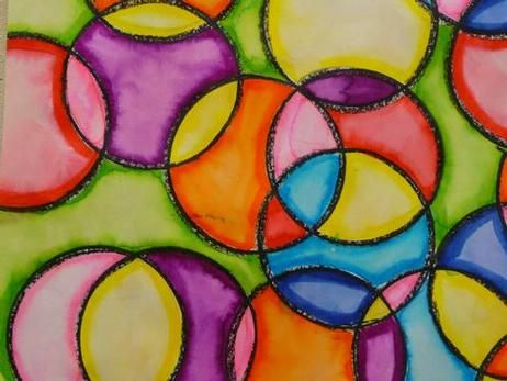 109 best images about Art Lessons on Pinterest   Tissue paper ...