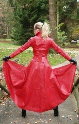 genuine leather dress handmade lambskin leather dress plus
