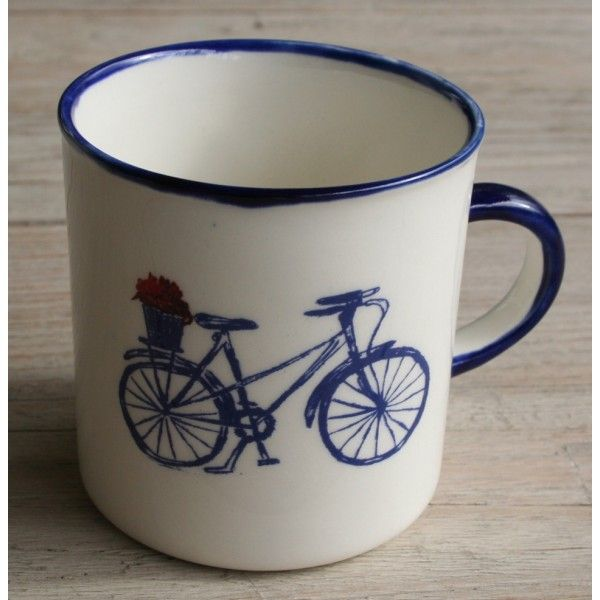 4 Mug´s Farm Range Camp - Bicycle (Blue Set) R320,00 Farm Range Camp Mug´s Bicycle (Blue Set) Handmade Ceramic Mugs Colour: Blue and Red Heart 4 x 250ml Ceramic Mug Dishwasher and Microwave safe Call us: +27 (0) 861999938 Chutney Grey - Cape Town