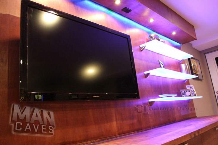 floating led bar shelves 2