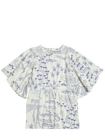 Mini Rodini - Map Printed Organic Cotton Jersey Dress on shopstyle.co.uk SS15