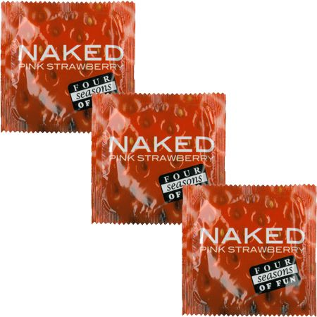 Four Seasons Naked Strawberry 12 pack