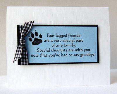Pet Loss Sympathy messages