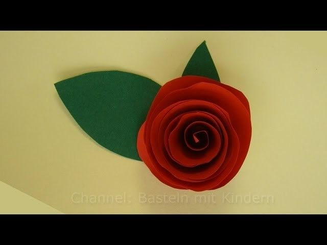 The 25+ best ideas about Rosen Basteln on Pinterest Blumen - blumen basteln