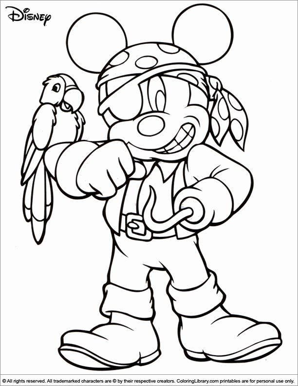 Disney Halloween Coloring Pages Printable in 2020 ...