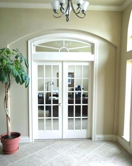 Solid Wood Internal Doors >> Arched French Doors Exterior Uk Interior Incredible With Transom ... | French doors interior ...